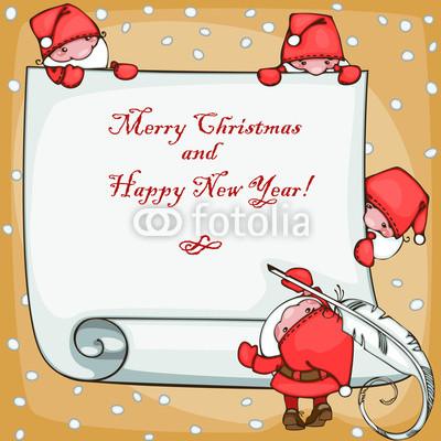 Подложка для новогодних открыток и флаеров (7)