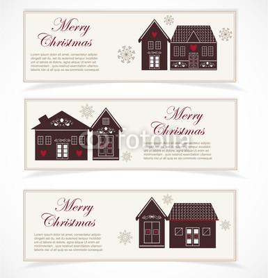 бежево-коричневые новогодние баннеры (1)