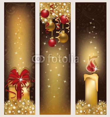 бежево-коричневые новогодние баннеры (4)