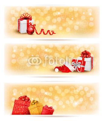 бежево-коричневые новогодние баннеры (6)