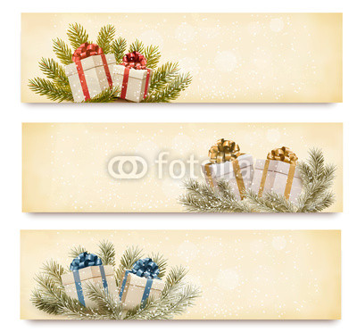 бежево-коричневые новогодние баннеры (7)