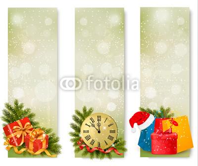все оттенки зелёного для новогоднего баннера (2)