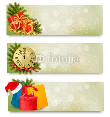 все оттенки зелёного для новогоднего баннера (4)