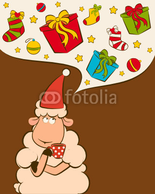 Как украсить открытку к новому году