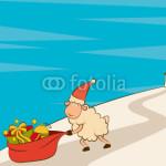 новогодние барашки (60)