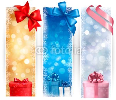 разноцветные новогодние баннеры (4)