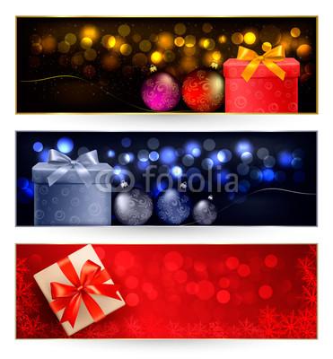 разноцветные новогодние баннеры (5)