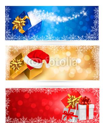 разноцветные новогодние баннеры (6)