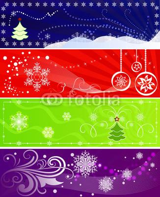 разноцветные новогодние баннеры (7)