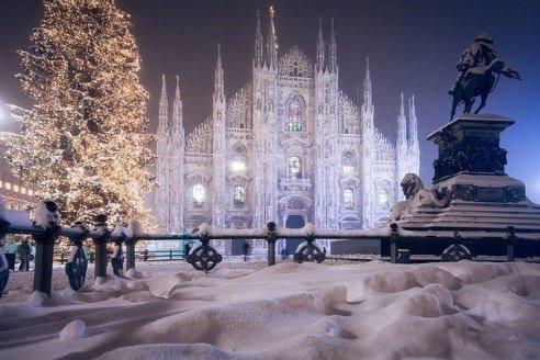 Новый год в Милане, Италия