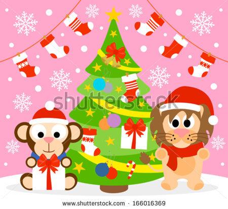 monkey christmas (126)