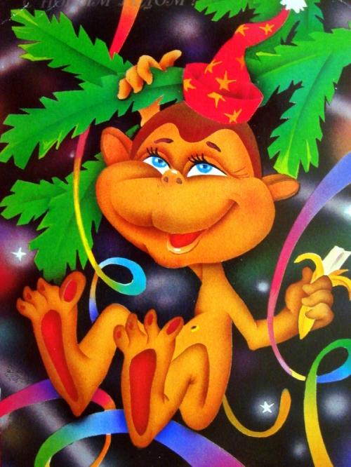 monkey christmas (137)