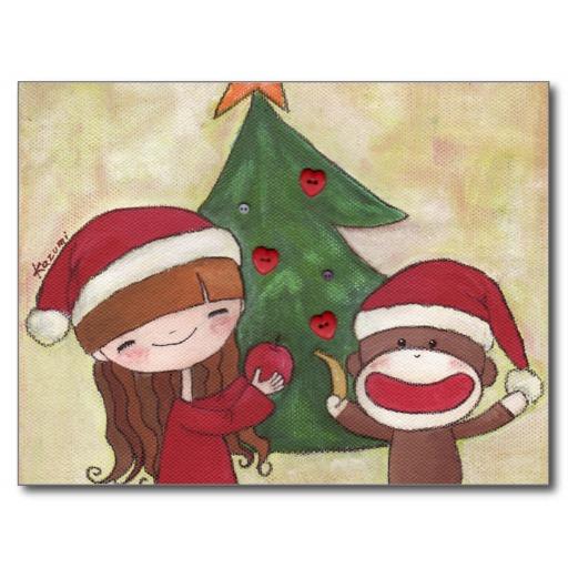monkey christmas (138)