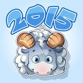 открытки год козы  (8)