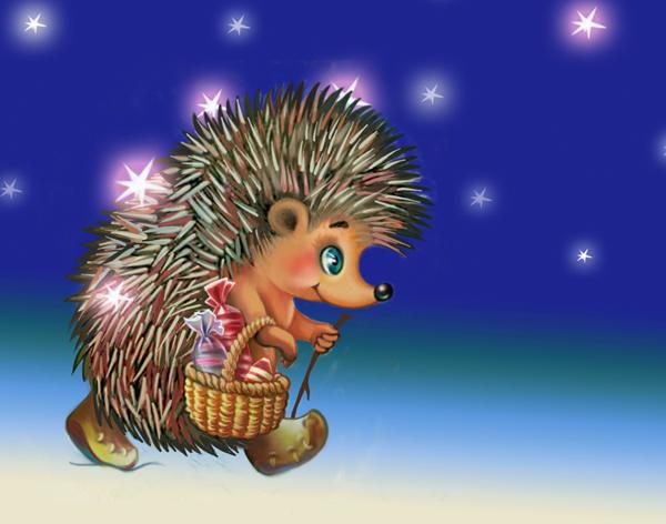 new year hedgehog (20)
