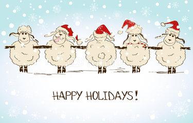 ПОЗДРАВЛЯЛКА!!!!! - Страница 20 New-year-sheep-16