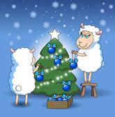 открытки год козы (54)
