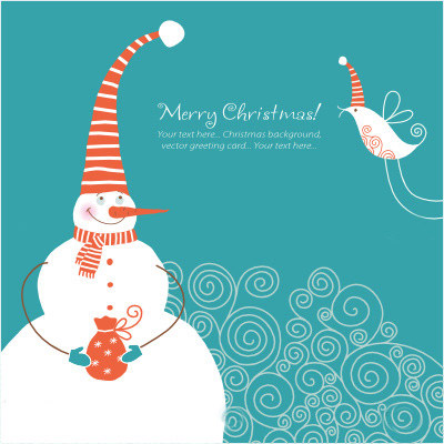 snowman cards (4)