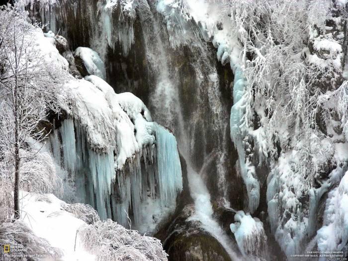 Зима песни народного хора