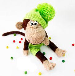 картинки новогодняя обезьяна (24)