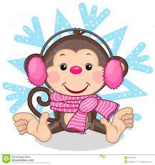 картинки новогодняя обезьяна (37)