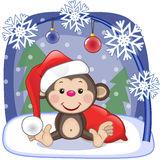 картинки новогодняя обезьяна (80)