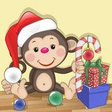 картинки новогодняя обезьяна (82)