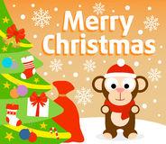 картинки новогодняя обезьяна (88)