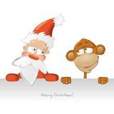 картинки новогодняя обезьяна (9)