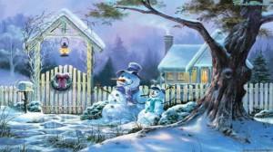 "Новогодний сценарий: ""Сказочный снегопад"""
