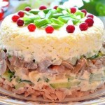 8 рецептов красивых салатов к новому году 2016 - 6