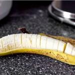 Блинный торт из бананов с йогуртом и глазурью из грецкого ореха - 2