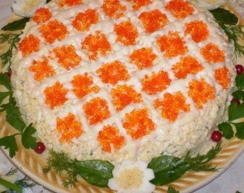Салат праздничный рецепт с фото