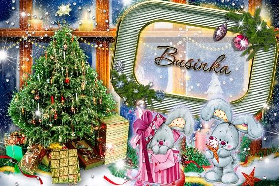 Новогодние рамки. Уютная и трогательная новогодняя рамка для детских фотографий, которая обязательно Вам понравится. Детская новогодняя рамка для фото должна притягивать взгляд, а эта новогодняя рамка просто не даст Вам шанса оторваться от неё. Здесь есть всё, что нужно для красивого оформления детских фотографий на Новый год: и чудесные плюшевые зайки, и красивые подарки, и роскошная ёлочка.