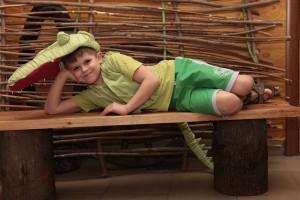 Костюм крокодила и мой сын