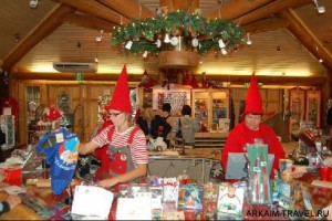 В мастерской Санта Клауса