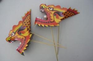 Бумажные драконы