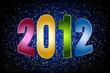 Картинка с надписью 2012 - №1220