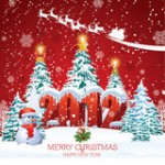 Новый год картинки 2012 - №2081