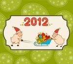 Новый год картинки 2012 - №2087