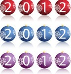 Новый год картинки 2012 - №2097