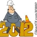 Новый год картинки 2012 - №2107