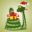 Милая змейка символ 2013