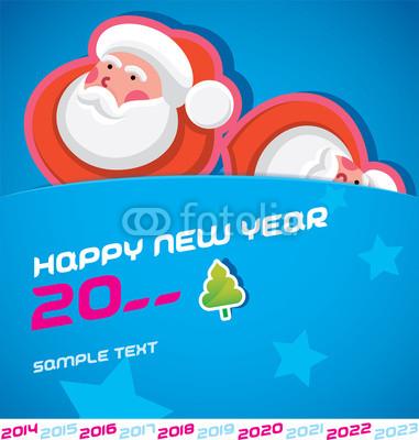 Новогодние баннеры с Сантой (7)