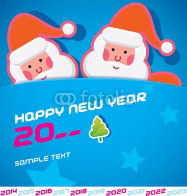 Новогодние баннеры с Сантой (8)