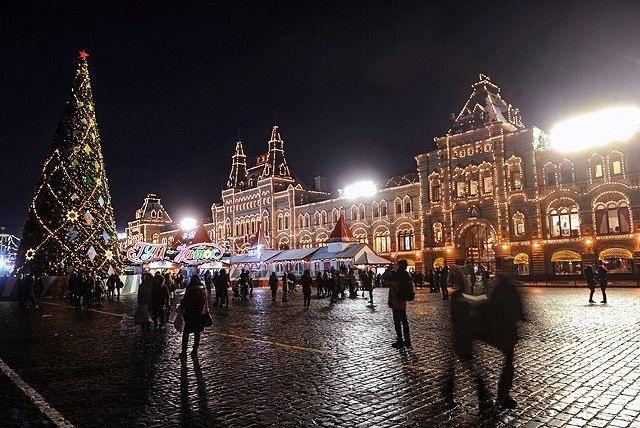 Новогодняя Москва 2