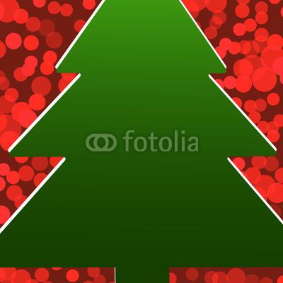 Красивый новогодний баннер с ёлочкой (1)