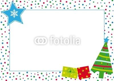 Красивый новогодний баннер с ёлочкой (2)