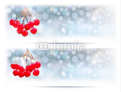 Голубые новогодние баннеры (12)