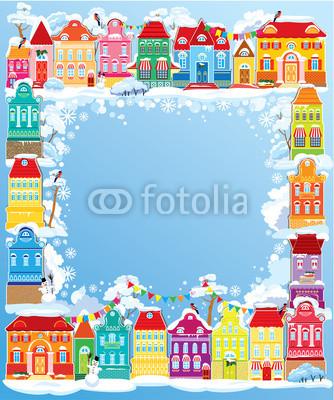 Подложка для новогодних открыток и флаеров (6)